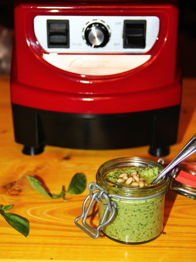pesto raw vegan